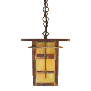 Arroyo Craftsman Exterior Lighting Finsbury pendant