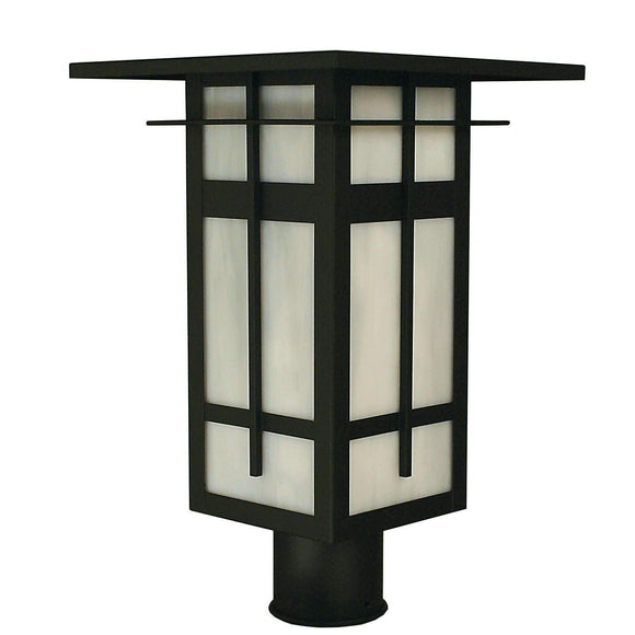 Arroyo Craftsman Exterior Lighting Finsbury post mount
