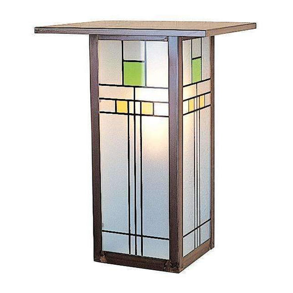Arroyo Craftsman Exterior Lighting Franklin long body flush wall mount