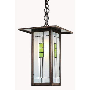 Arroyo Craftsman Exterior Lighting Franklin long body pendant
