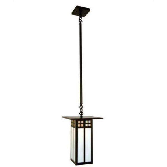 Arroyo Craftsman Exterior Lighting Glasgow long body stem mount pendant
