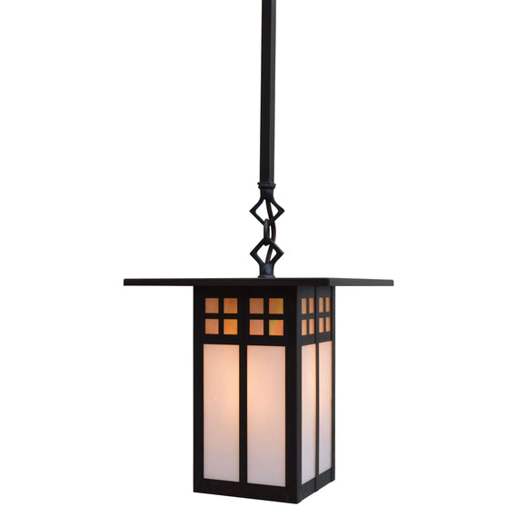 Arroyo Craftsman Exterior Lighting Glasgow stem mount pendant