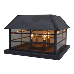 Arroyo Craftsman Exterior Lighting Hampton column mount