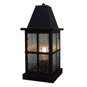 Arroyo Craftsman Exterior Lighting Hartford column mount
