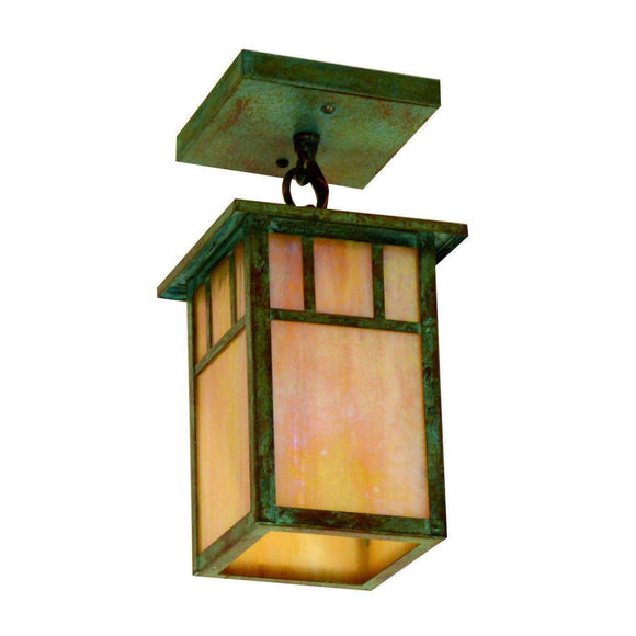 Arroyo Craftsman Exterior Lighting Huntington one light ceiling mount