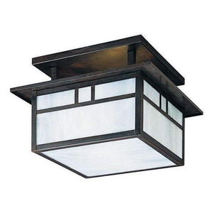 Arroyo Craftsman Exterior Lighting Huntington Square ceiling mount