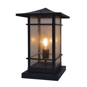 Arroyo Craftsman Exterior Lighting Katsura column mount