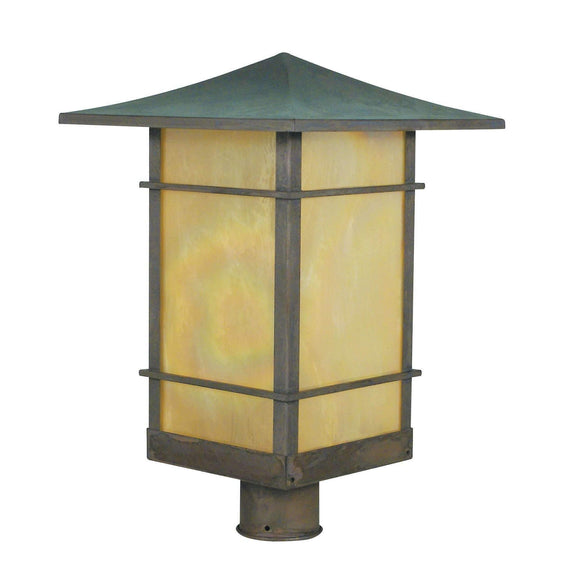 Arroyo Craftsman Exterior Lighting Katsura post mount