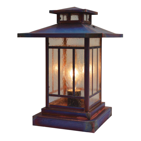 Arroyo Craftsman Exterior Lighting Kennebec column mount