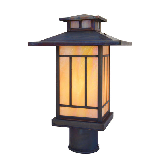 Arroyo Craftsman Exterior Lighting Kennebec post mount