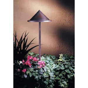 "Arroyo Craftsman Exterior Lighting low voltage 8"" berkeley roof stem mount"