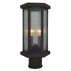 Arroyo Craftsman Exterior Lighting Lyon post mount