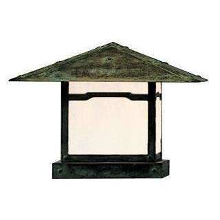 Arroyo Craftsman Exterior Lighting Monterey column mount