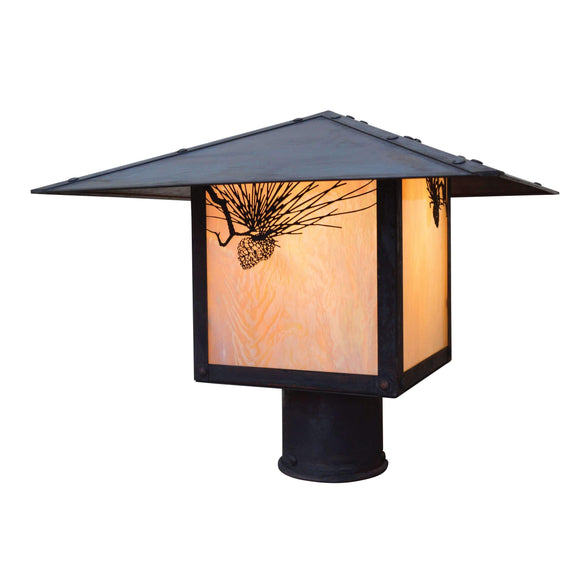 Arroyo Craftsman Exterior Lighting Monterey post mount