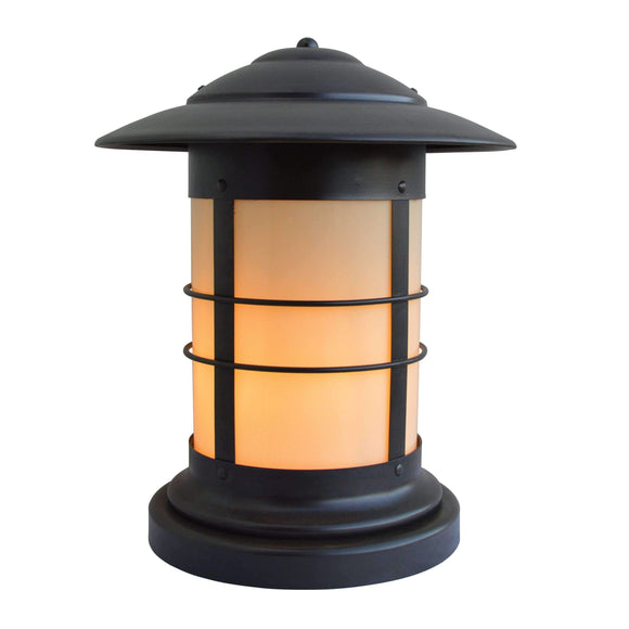 Arroyo Craftsman Exterior Lighting Newport column mount