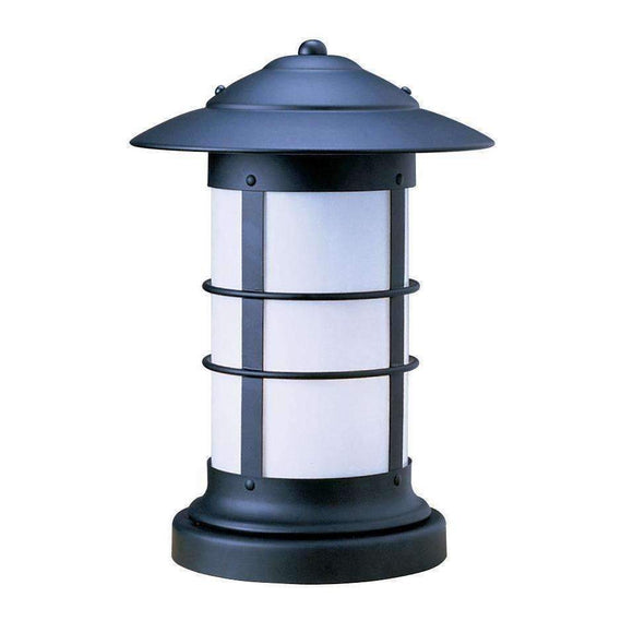 Arroyo Craftsman Exterior Lighting Newport long body column mount