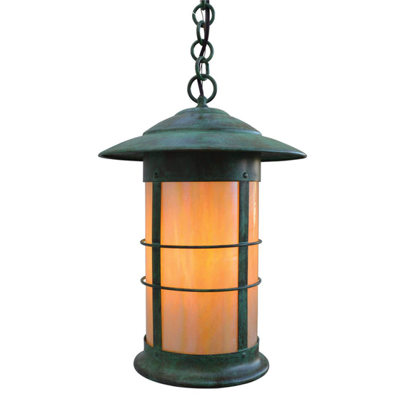 Arroyo Craftsman Exterior Lighting Newport long body pendant