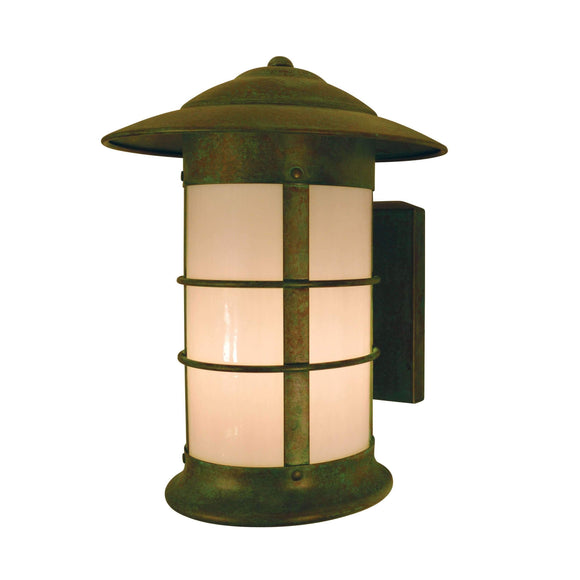 Arroyo Craftsman Exterior Lighting Newport long body sconce