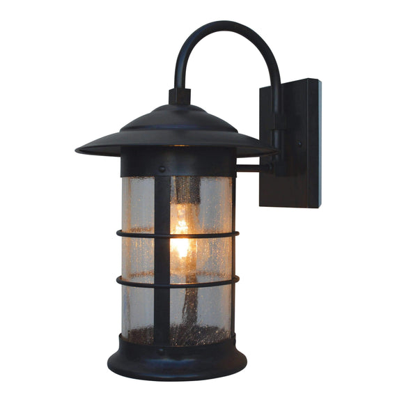 Arroyo Craftsman Exterior Lighting Newport long body wall mount