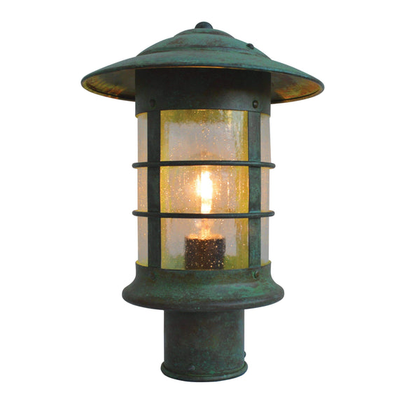 Arroyo Craftsman Exterior Lighting Newport post mount fixture