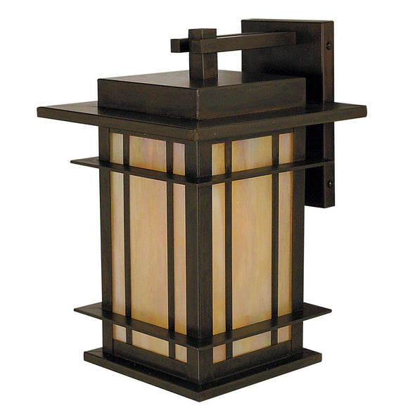Arroyo Craftsman Exterior Lighting Oak park wall mount
