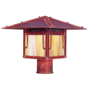 Arroyo Craftsman Exterior Lighting Pagoda post mount