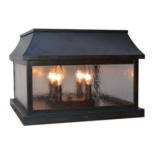 Arroyo Craftsman Exterior Lighting Providence column mount
