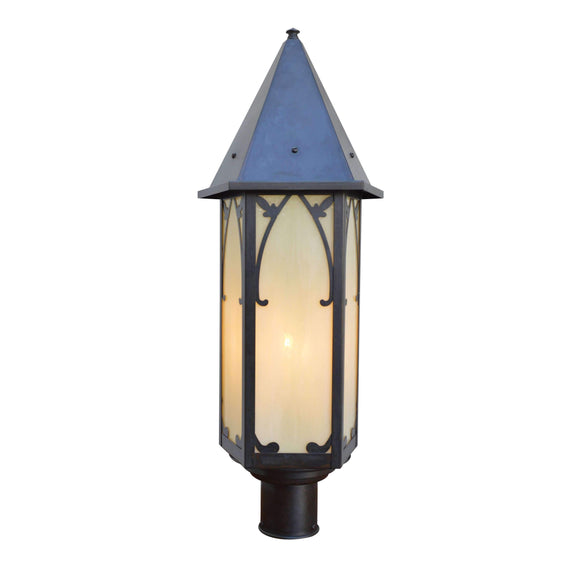 saint george post mount exterior light by arroyo