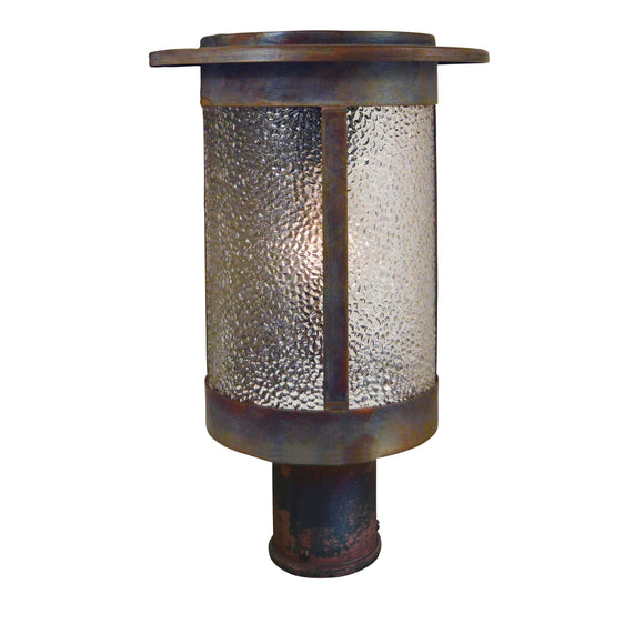 Arroyo Craftsman Exterior Lighting Santorini post mount