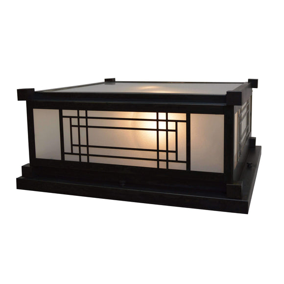 Arroyo Craftsman Exterior Lighting Scottsdale column mount