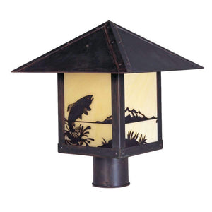Arroyo Craftsman Exterior Lighting Timber Ridge post mount
