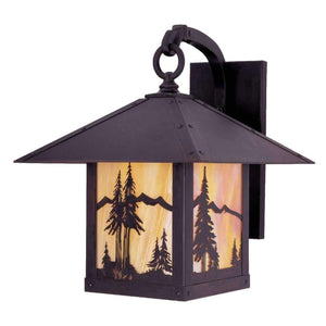 Arroyo Craftsman Exterior Lighting Timber ridge wall bracket