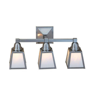 a-line shade 3 light sconce by arroyo lighting