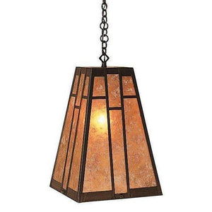 Arroyo Craftsman Interior Lighting Asheville hanging pendant