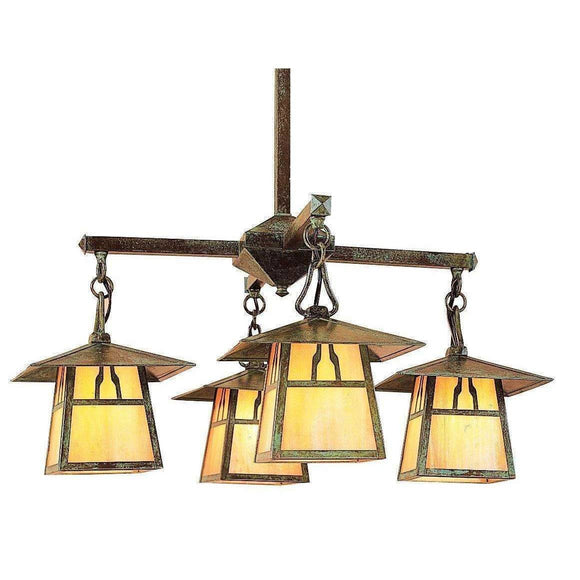 Arroyo Craftsman Interior Lighting Carmel 4 light chandelier