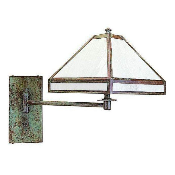 Arroyo Craftsman Interior Lighting Pasadena wall mount swing arm