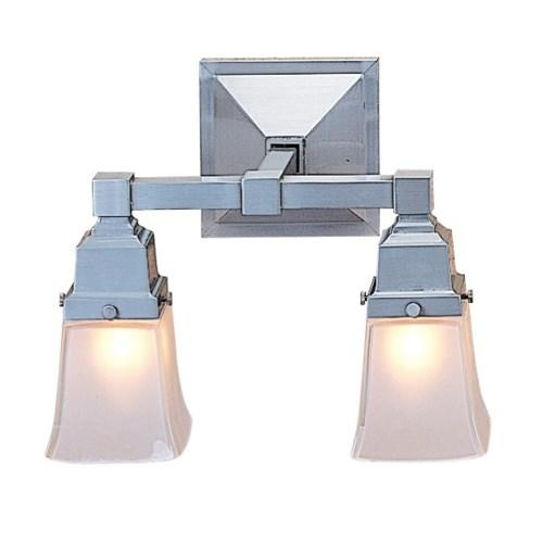 Ruskin Double Sconce by Arroyo Craftsman