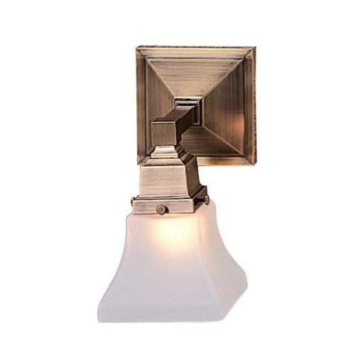Ruskin Single Sconce by Arroyo Craftsman