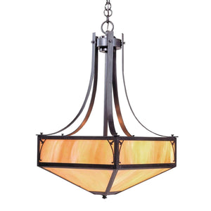 Arroyo Craftsman Interior Lighting Saint george inverted chandelier