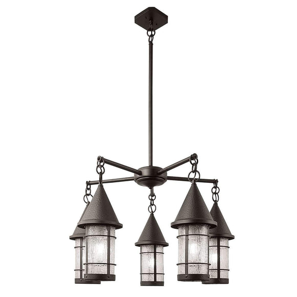 Arroyo Craftsman Interior Lighting Valencia 5 light chandelier