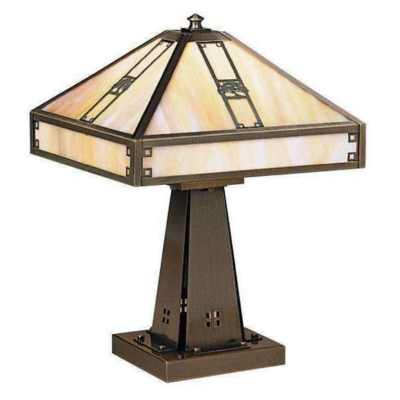 Arroyo Craftsman Lamps Pasadena table lamp
