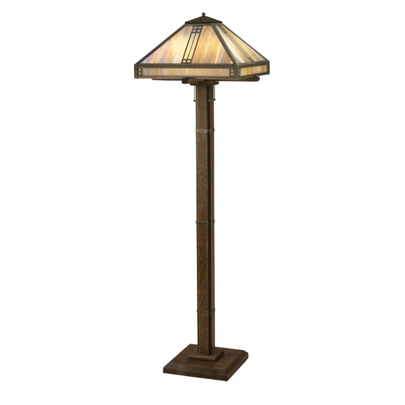 Arroyo Craftsman Lamps Prairie floor lamp