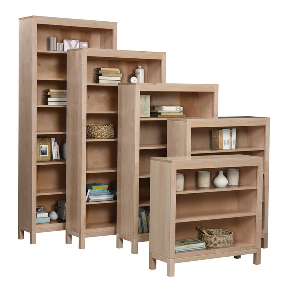Ashery Oak Office Vienna Bookcase