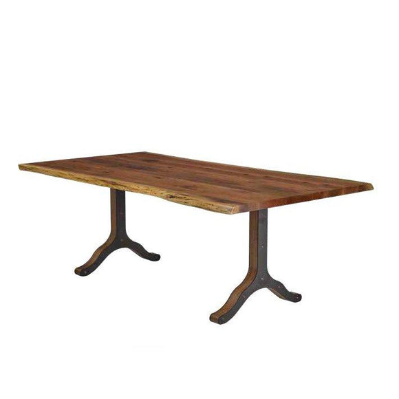 Live Edge Dining Table- Strada Base by Barkmans