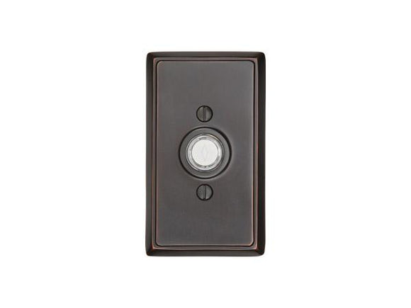 Emtek Hardware Rectangular Doorbell