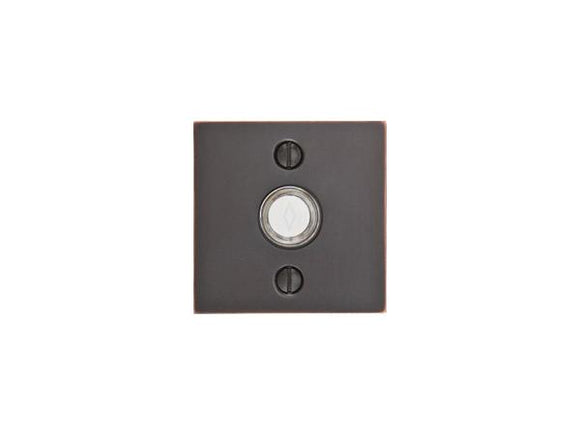 Emtek Hardware Square Doorbell