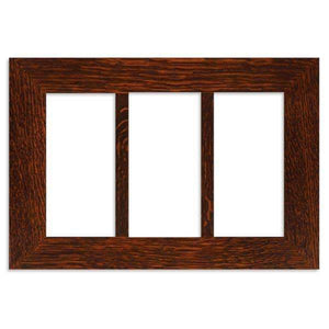 Family Woodworks Tile 4x8 Multi-Tile Oak Frame