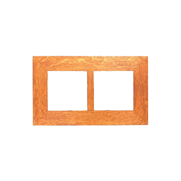 Family Woodworks Tile 6x6 Multi-Tile Oak Frame