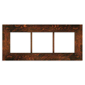 Family Woodworks Tile 8x8 Multi-Tile Oak Frame