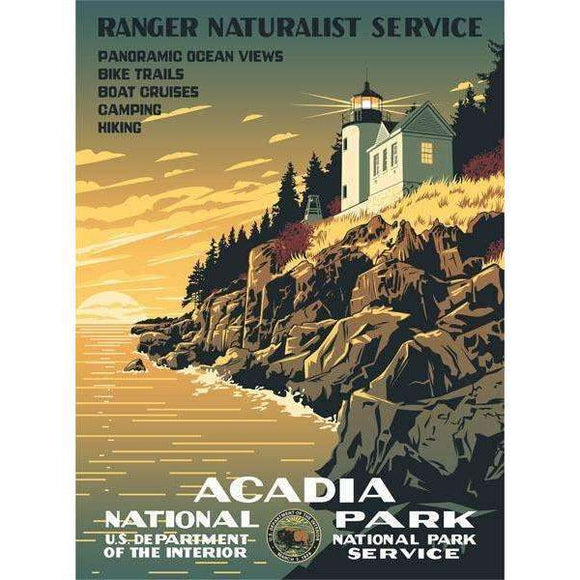 Ford Craftsman Decor Acadia National Park Poster